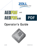 Operator and Service Guide[1] 9650-0350-01 REV G AED Pro