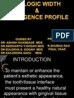 Biologic Width & Emergence Profile