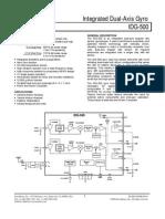 Datasheet IDG500