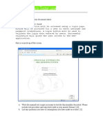 Specimen Software Tester Exam Template