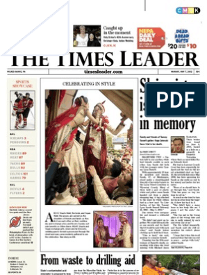 Times Leader 05-07-2012