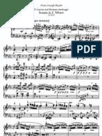 Haydn - Piano Sonata Op. 33.