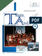 Boletín Informativo del CFC Tinta Azul N°9-Año 1
