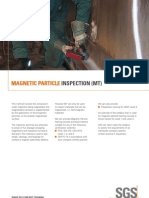 Sgs Ind Ndt Magnetic Particle Inspection Courses by Sgs en 09