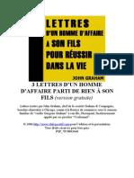 Lettres a Son Fils Pour Reussir