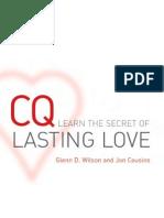 CQ Secret of Lasting Love