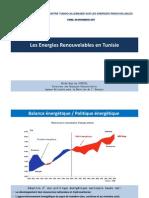 01. Les Energies Renouvelables en Tunisie