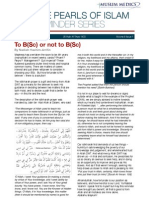 The Pearls of Islam Reminder Series 6.1 - To B(Sc) Or Not To B(Sc)