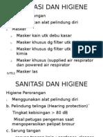 Sanitasi Dan Higiene