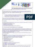 Note Sur La r Glementation ERP