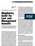 1990 Mandatory Audit for Cost and Management Accounts
