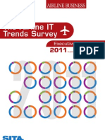 Airline IT Trends Survey 2011 Exec Summary