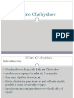 Filtro Chebyshev