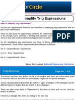 How to Simplify Trig Expressions