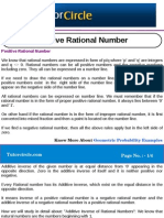 Positive Rational Number