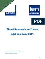 Biomédicaments en France 2011 version finale_0