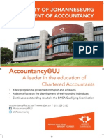 Accountancy@UJ - A leader in Accounting Education
