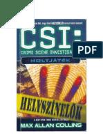 37356156-Max-Allan-Collins-CSI-Helyszinelők-Holtjatek
