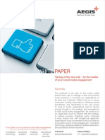 White Paper Social Media Engagement