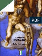 Tommaso Campanella - Poesie