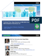 DB2 Tech Talk Technical Tour of DB2 10 and Info Sphere Warehouse 10