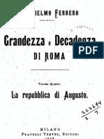 Grandezza e Decadenza di Roma 4