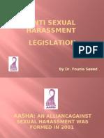 GRPIW DAY4_Anti-Sexual Harassment Legislation-Pakistan_Fouzia Saeed
