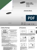 Samsung Surround User Manual