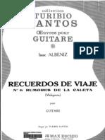 Albéniz, Isaac - Rumores de la Caleta (trans. Turibio Santos)