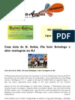Com Dois de R. Sobis, Flu Bate Botafogo e Abre Vantagem No RJ