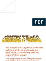 Cong and Simillarity of Triangle