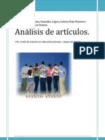 CONCLUSIÓN de ARTÍCULOS