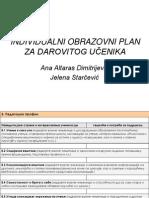 IOP Za Darovite - Power Point Prezentacija