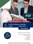 Informator 2012 - studia podyplomowe - Wyższa Szkoła Bankowa w Toruniu