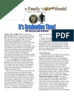 No 7 May 12 Graduation Newsletter