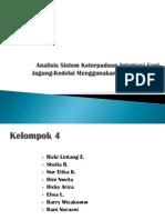 Analisis Sistem Keterpaduan Integrasi Sapi-Jagung-Kedelai Menggunakan Software Stella