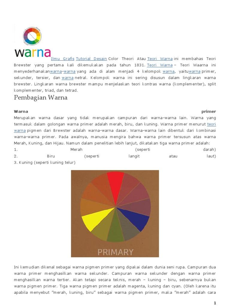 Teori warna ccuart Gallery