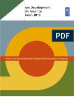 Regional Human Development Report for Latin America and the Caribbean 2010