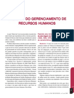 Entrevista Desafios Do Gerenciamento de Recursos Humanos