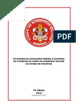 Coletnea Da Legislao Do CBMRO