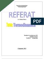 Cap III Termodinamica
