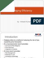 Hedging Efficiency