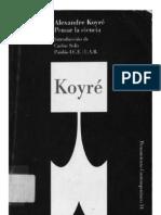 Alexandre Koyre - Pensar La nparcial