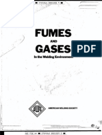 AWS - Arc Welding Safety, Fumes-Gases 1979