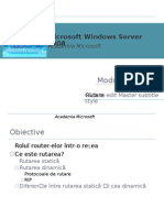 Curs Server 2008 Routing