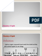 Chemistry of Lipids-LECTURE