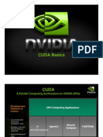 NVIDIA GPU Computing Webinars CUDA Introduction April-2009