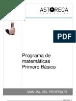Manual Matemáticas 1º básico -