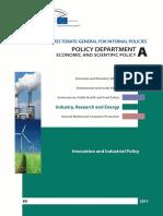 Innovation and industrial policy(Eng)/ Innovación y la política industrial(Ing)/ Berrikuntza eta politika industriala(Ing)