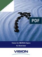 Micros Opera Vision XLExercises